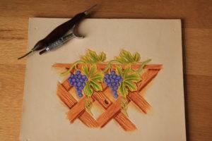 carven toolen leer tekenen modelleren snijden
