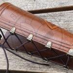 custom made armbeschermer tuigleer boogschutter